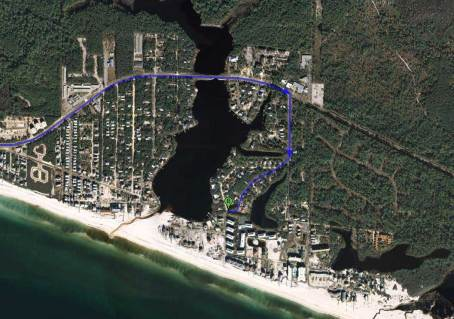 Beachside Villas, Seagrove Beach, Florida