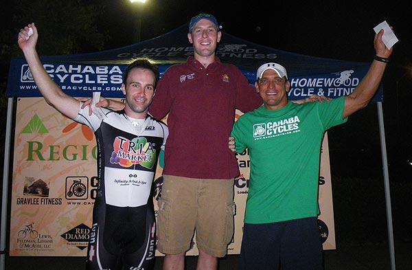 Jacob Tubbs, Philip Thompson, and Sammy Flores