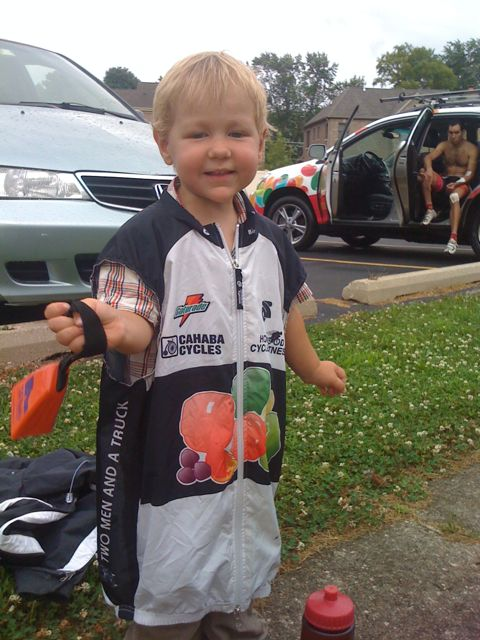 Josiah in the feedzone