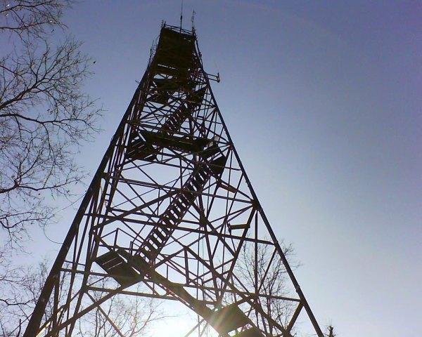 Ruffner Mountain Firetower upclose