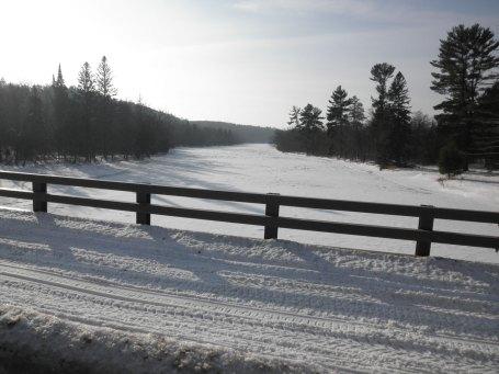 Frozen St Croix River