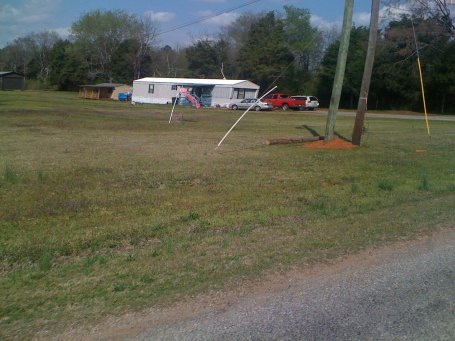 It wouldn't be a ride deep in the country without a confederate flag somewhere along the route.