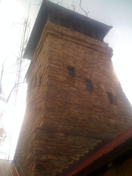 The Cheaha lookout tower