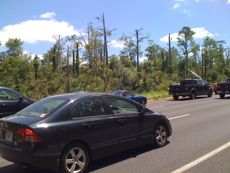 US280 near Dolly Ridge Rd