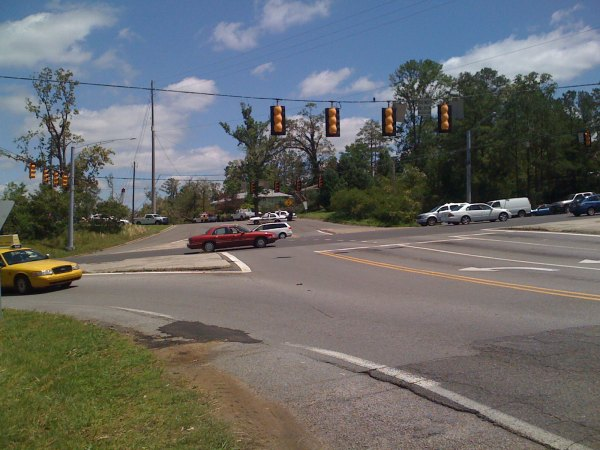 US280 at the intersection of Dolly Ridge Rd