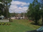 Mountain Brook Community Church - normally you can't see the church that well because of the trees.