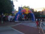 Kids zone at Athens Twilight