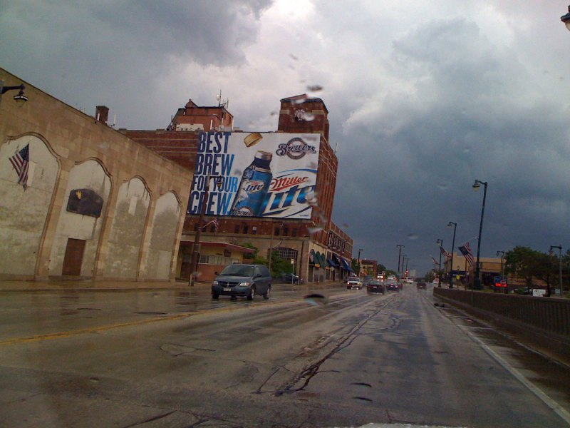 "You would think ""Old Milwaukee"" would have more advertising than Miller"