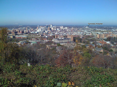 Downtown Birmingham - annotated