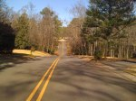 One of the many roller coaster hills in Mountain Brook, this one is near Whole Foods