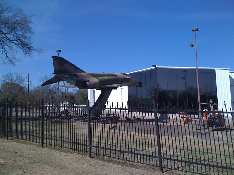 That is a large jet fighter!