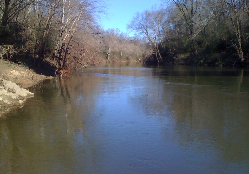A very peaceful looking Warrior river