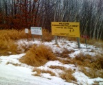 Welcome timberland hills west lighted ski trail