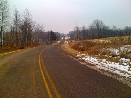 Co Rd J - the hilliest road in the area with several 10+% rollers including one that maxed out at 14%