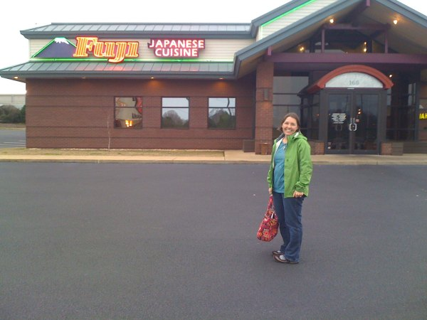 Fuji steakhouse or better known as Fup (according to Kristine)