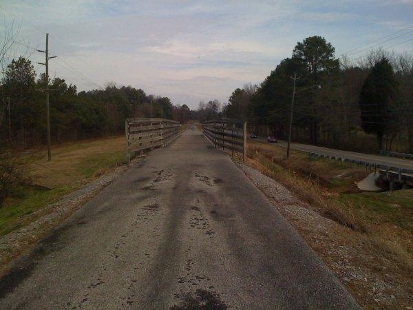 chief ladiga trail - flat and straight