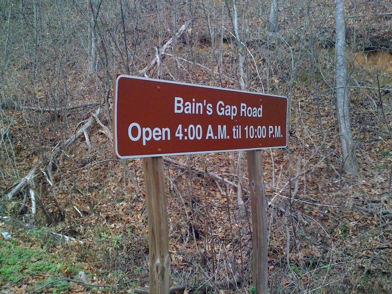 Bains Gap road - open 4am - 10pm
