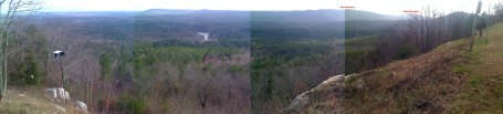 Another panoramic view of the Co Rd 43 valley -- but angled farther down to highlight the valley instead of the ridge line