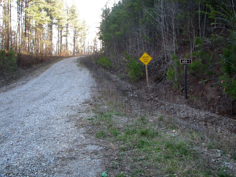 This is towards the beginning of the return climb (I didn't take any pictures on the outbound portion of the ride)