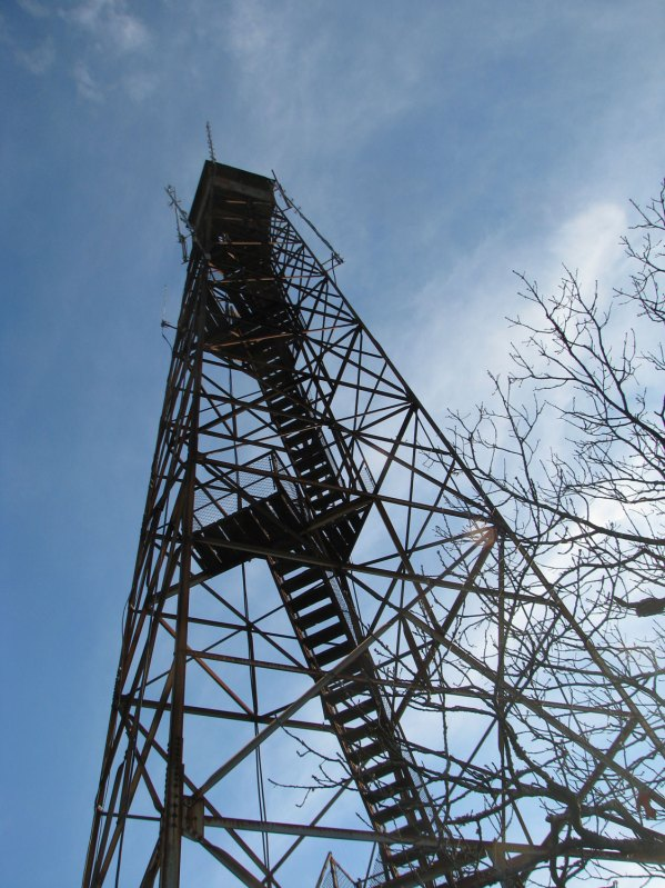 Very tall firetower that would have been awesome to climb