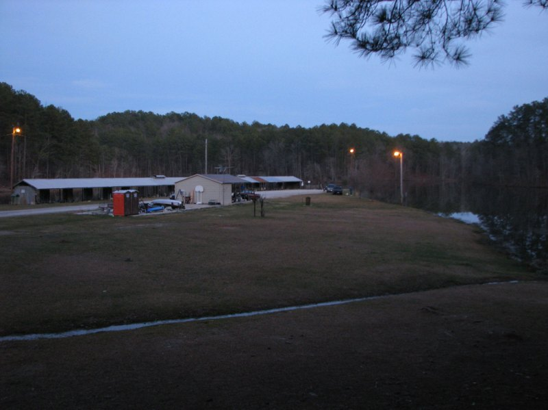 Lake Howard fishing area