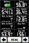Complete ride stats, part 2