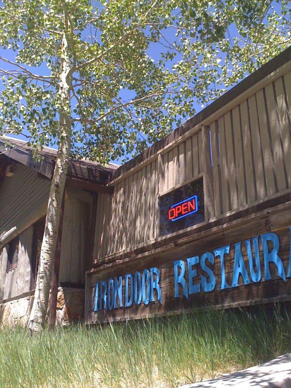 Irondoor Restaurant, an oasis in the sky