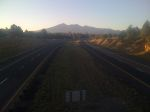 The San Francisco peaks above Flagstaff