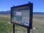 Day 17 - informational sign at a lookout spot inside the Valles Caldera