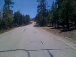 Day 17 - some steep slopes on the Pajarito ski hill climb