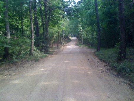Nice Rouge Roubaix style climb on Cahaba Beach road