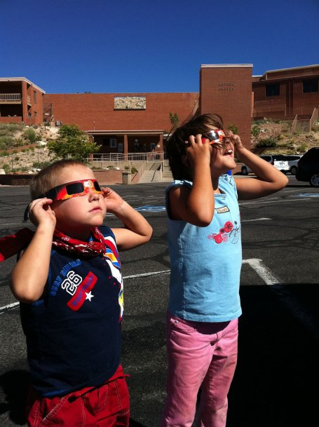 Day 16 - observing the transit of Venus from meteor crater