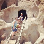 Day 17 - Indian ruins at Bandelier National Monument
