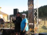 Ken Chlouber (Leadville race series founder) and his wife at the start of the awards ceremony