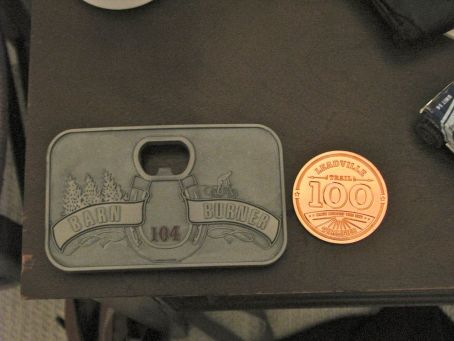 Belt buckle and entry to Leadville - I'll take it!