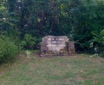 Another state park sign at the start of Bankhead Highway