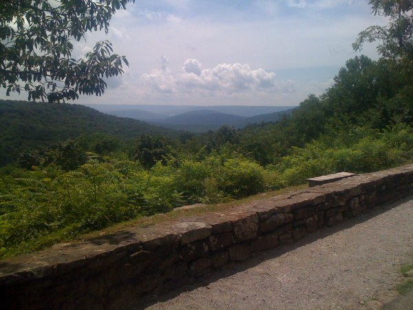 View from the Monte Sano overlook