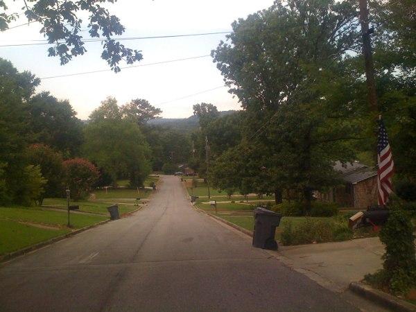 Ridges in my neighborhood