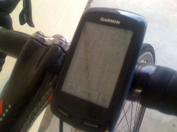 5 hours, 18 minutes into the second ride, 13,181 ft of climbing