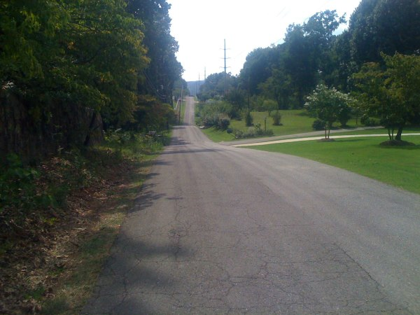 Thursday ride - rolling hills on Old Brook Trail
