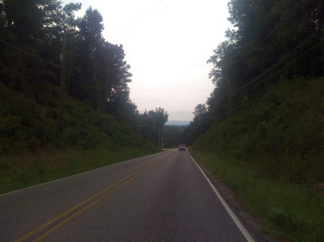 Descending old hwy 280 towards the cahaba river