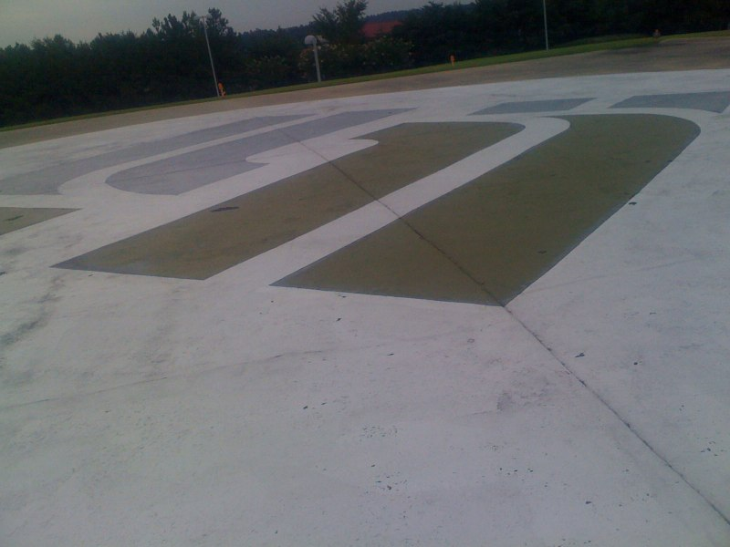 Circling the Healthsouth Helipad