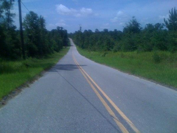 Hill heading towards De Funiak Springs