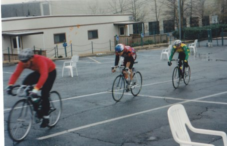 1996 - Life College parking lot crit in the rain