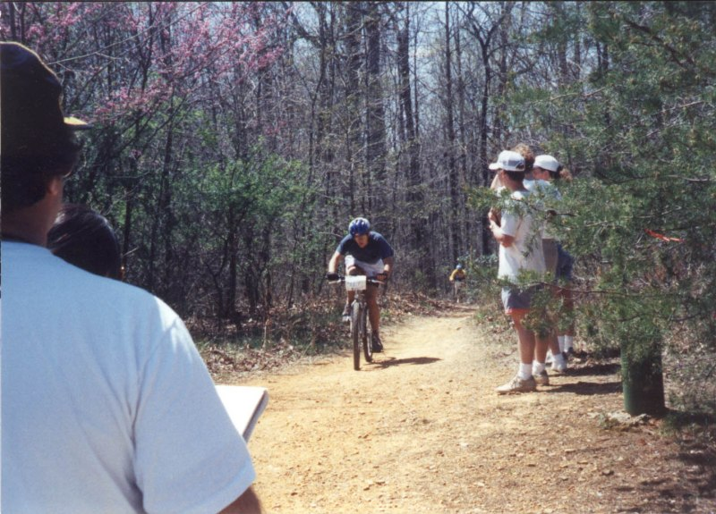 1993 - Cumberland Classic - finishing up in 6th place - it was just one lap
