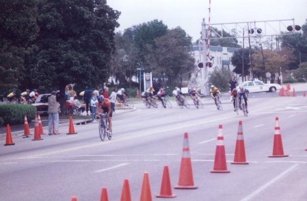 1996 - Tour de Bloom, winning a prime in the Cat 4 race