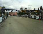Leadville trail 100 start/finish line
