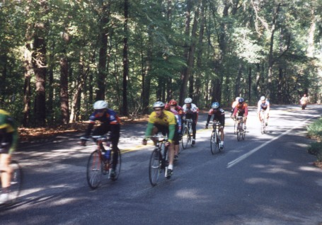 1996 - Cleveland Park on the back stretch - is that Travis Sherman in the Auburn kit?