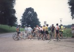 1994 - the juniors field just before the start of the road race at the Natchez Cycling Classic