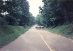 1994 - the juniors field during the road race at the Natchez Cycling Classic